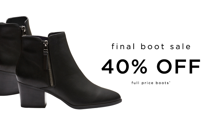40% Off Boots